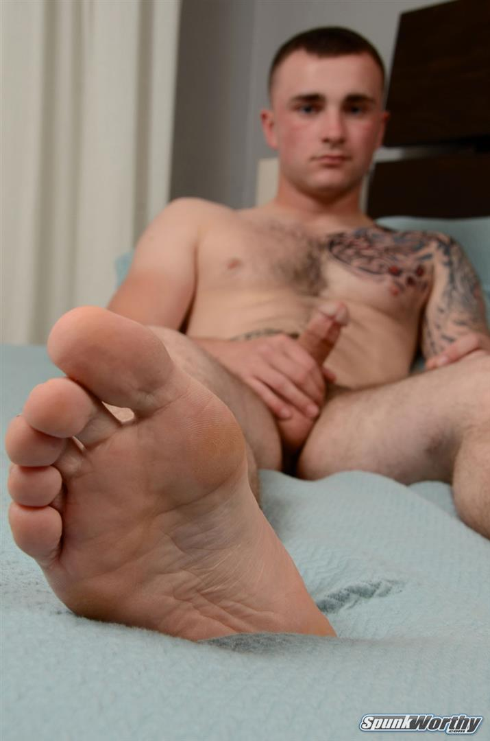 SpunkWorthy-Baird-Straight-Marine-Jerking-His-Big-Cock-Amateur-Gay-Porn-17 Straight Young Marine Doing His First Ever Jerk Off On Cam