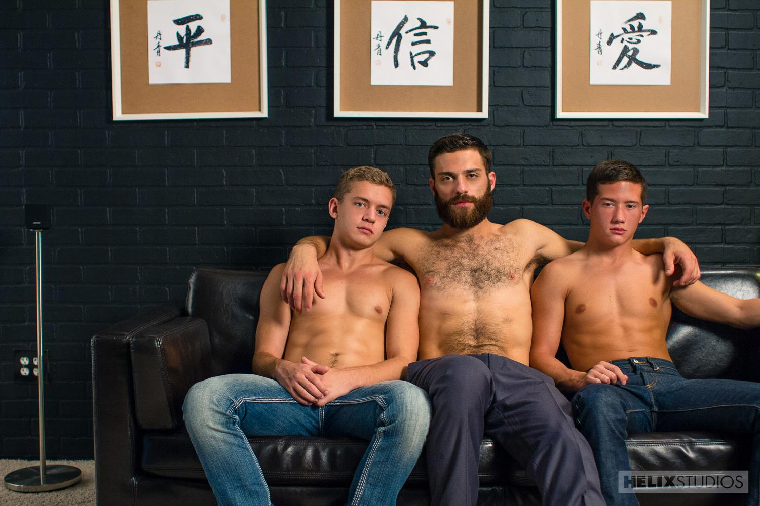 gay intergenerational sex Click here to download this full length twink threesome sex video and hundreds more amateur gay porn videos at Helix Studios.