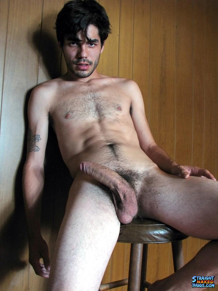 straight uncut male nude